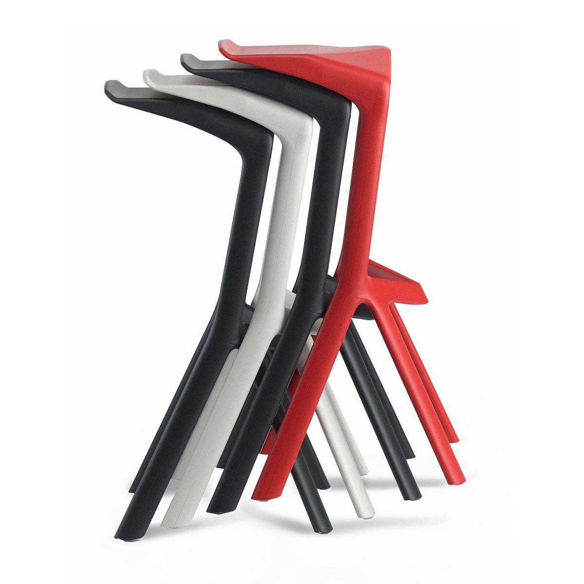 Miura hocker konstantin grcic plank i design deli - Miura barhocker ...