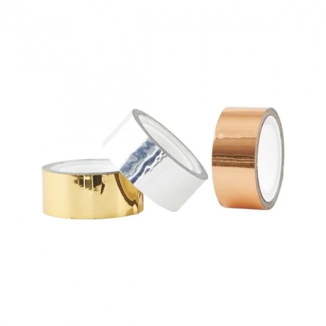 house doctor klebeband tape gold kupfer silber mgkl093 i design deli. Black Bedroom Furniture Sets. Home Design Ideas