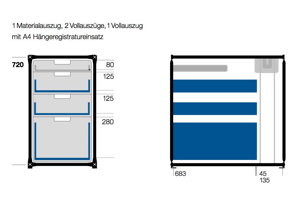 Design Schreibtisch Desktop Von System 180 Modular I