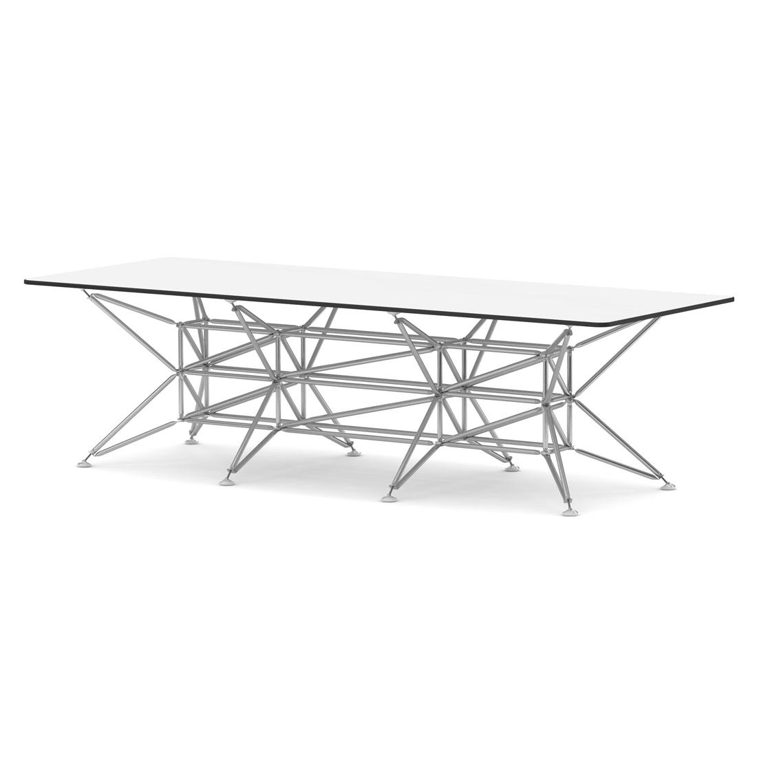 Tisch viereckig wei lunar system 180 i design deli for Design thinking tisch