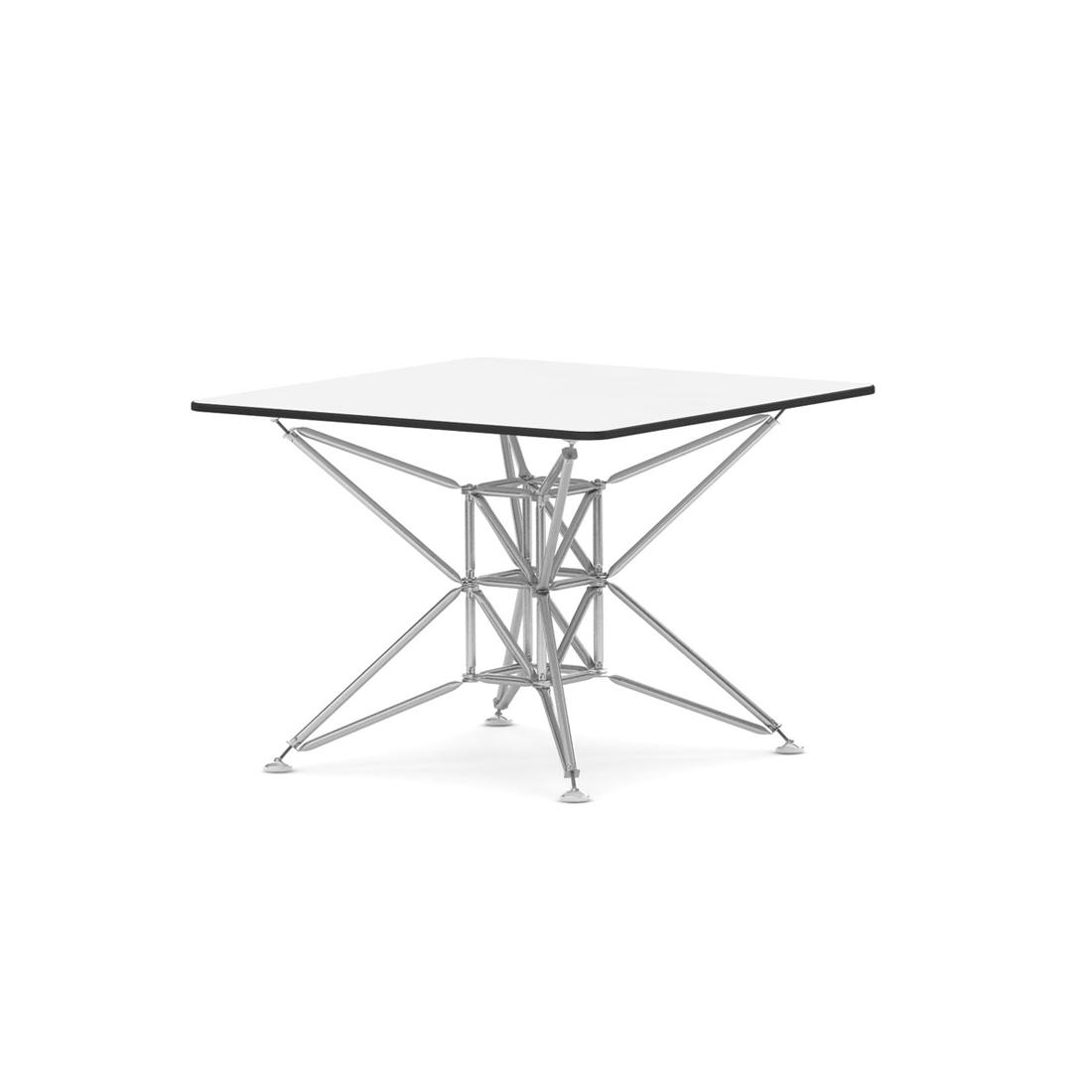 Tisch 97x97 cm viereckig wei lunar system 180 i design deli for Design thinking tisch