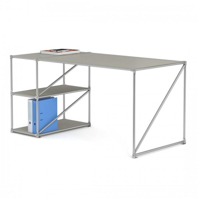 schreibtisch mit fach offen pure system 180 i design deli. Black Bedroom Furniture Sets. Home Design Ideas